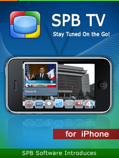 SPB TV: The Easiest to Use Mobile TV Comes to iPhone