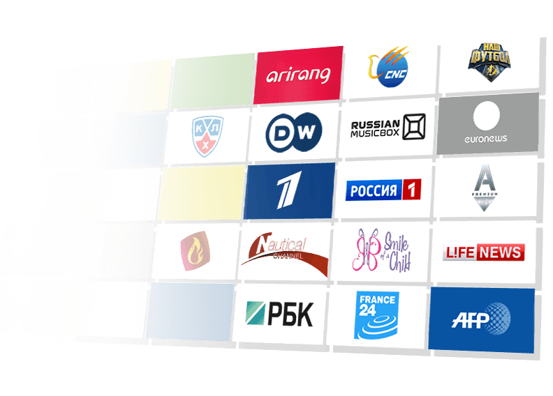 200+ TV CHANNELS