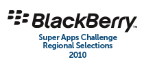 BlackBerry Super Apps Challenge: Regional Selections 2010