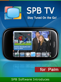SPB Supports Palm webOS Efforts by Bringing a Decent TV Application In