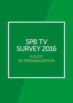 Survey 2016. A Slice Of Personalization