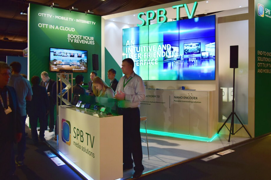 SPB TV at Exhibitions